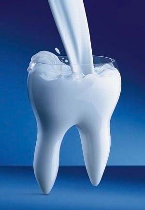 Ученые будут восстанавливать эмаль зубов с помощью коровьего молока
