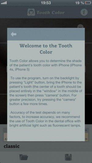 Приложение Tooth Color: теперь iPhone может определять оттенок цвета зуба пациентов